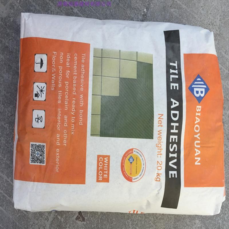 Glue ceramic tile