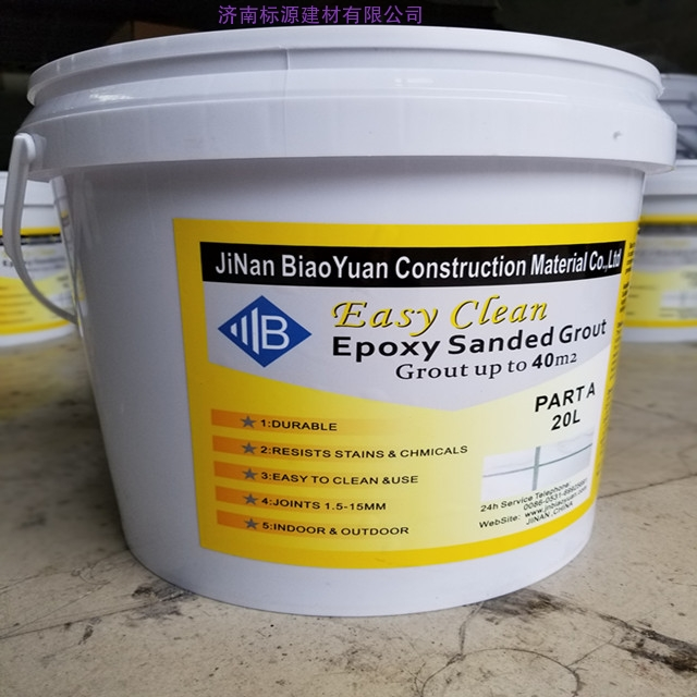 High Performance epoxy grouting for mosaic and Tiles
